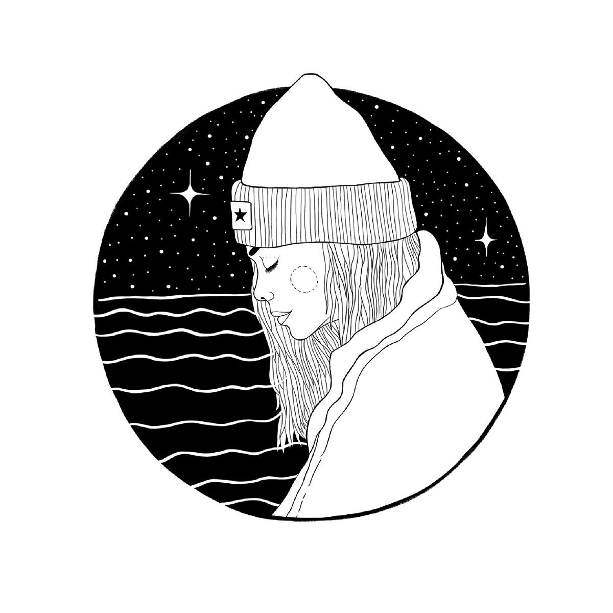 Illustration Cold Nights