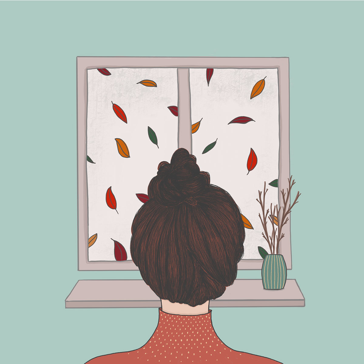 Illustration Herbst