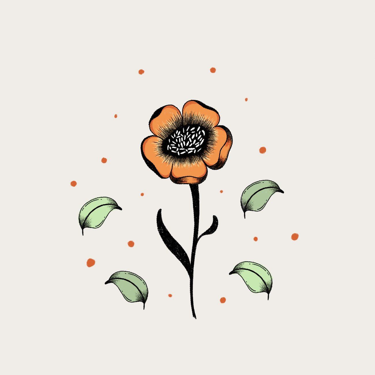 Illustration Blume