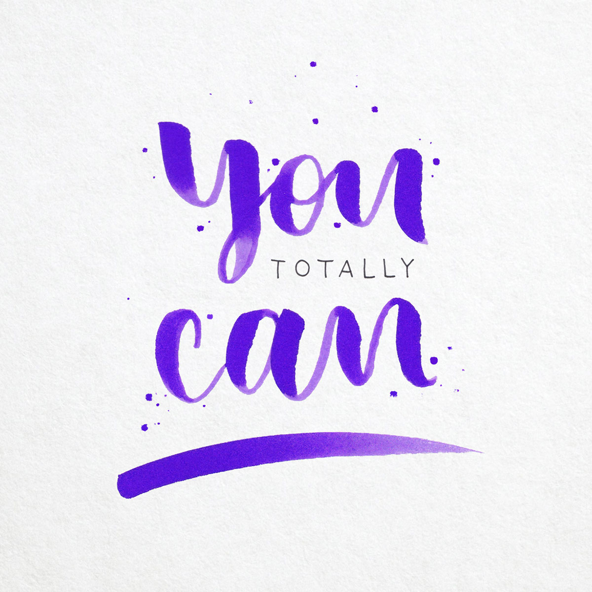 Lettering - You totally can!