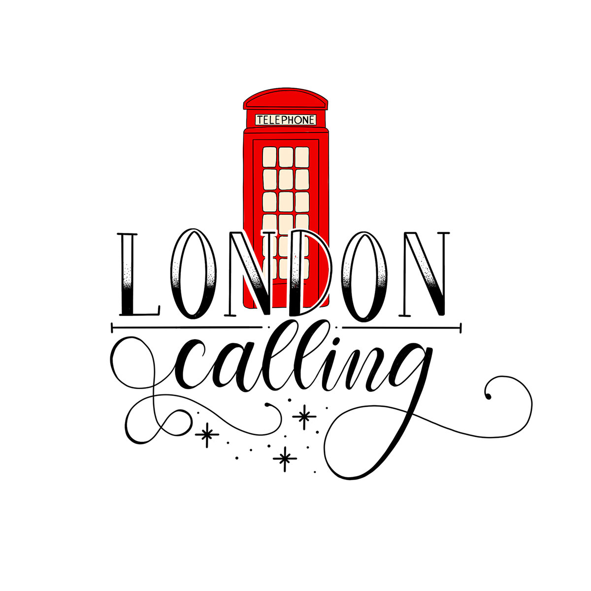 Lettering - London calling!