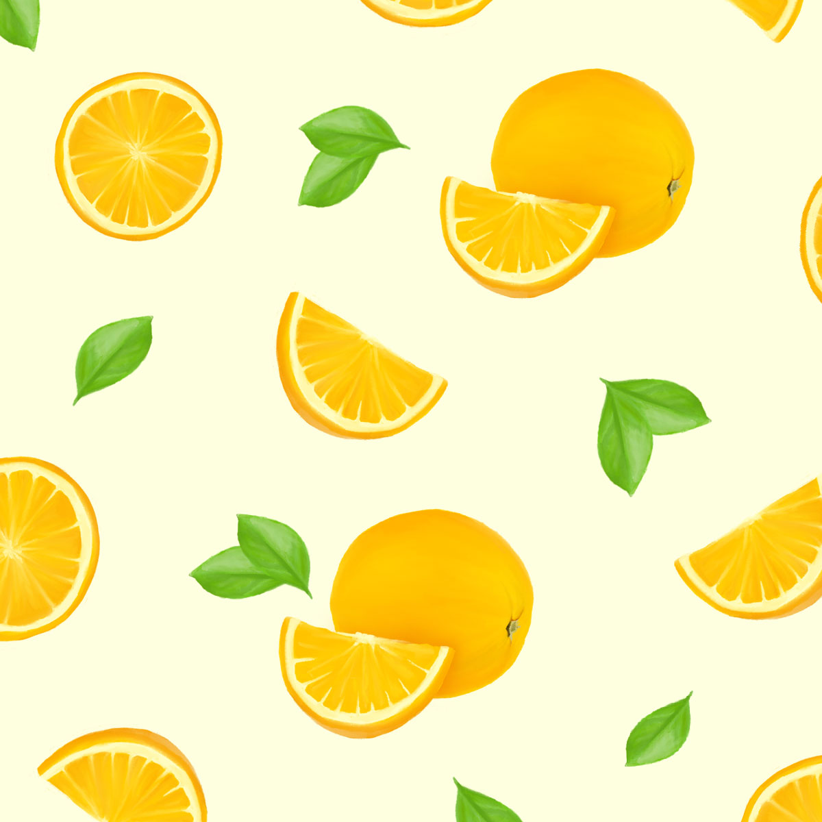 Squeeze the Day Illustration Orangen