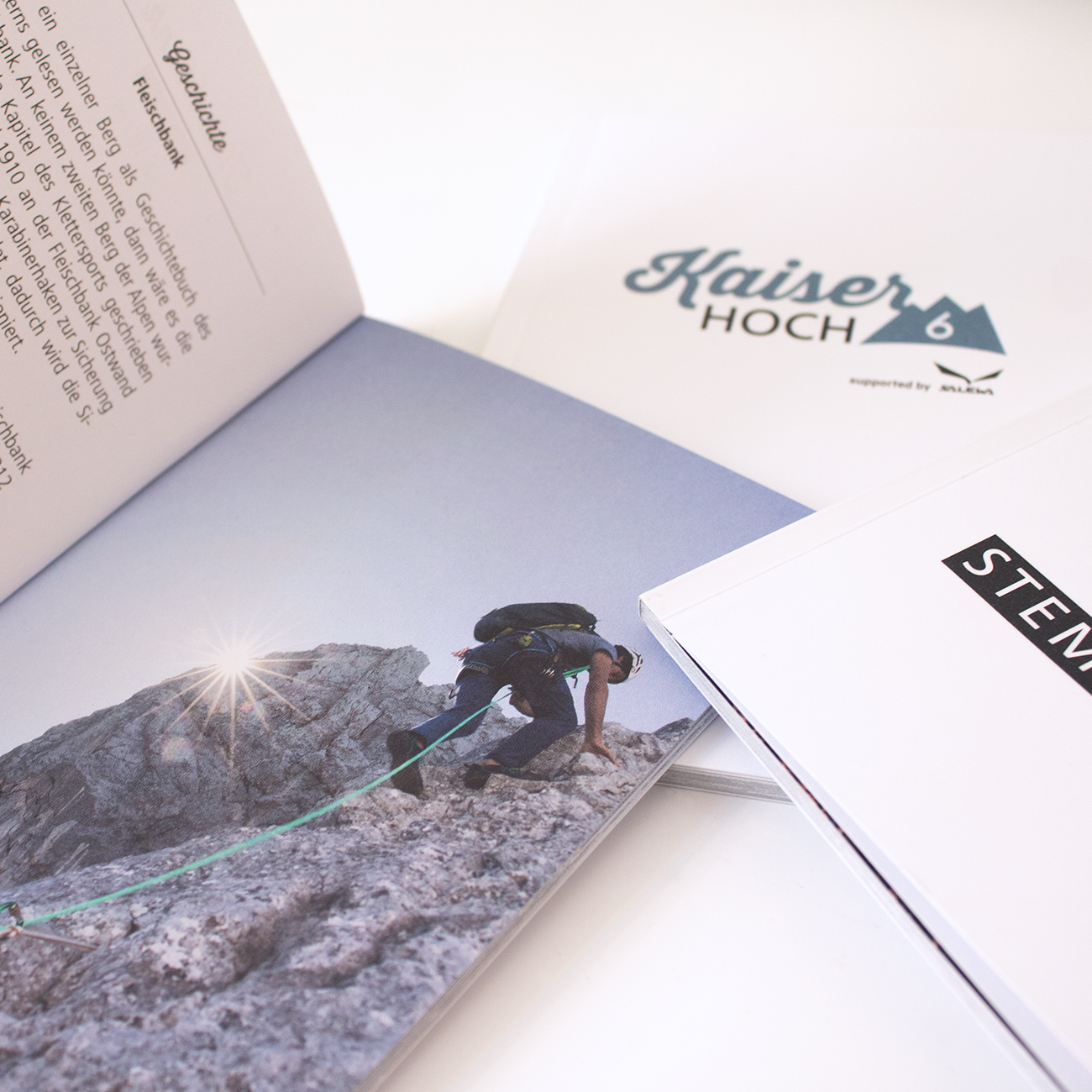 Die Kitzbüheler Bergführer - Kaiser Hoch 6 Stempelpass