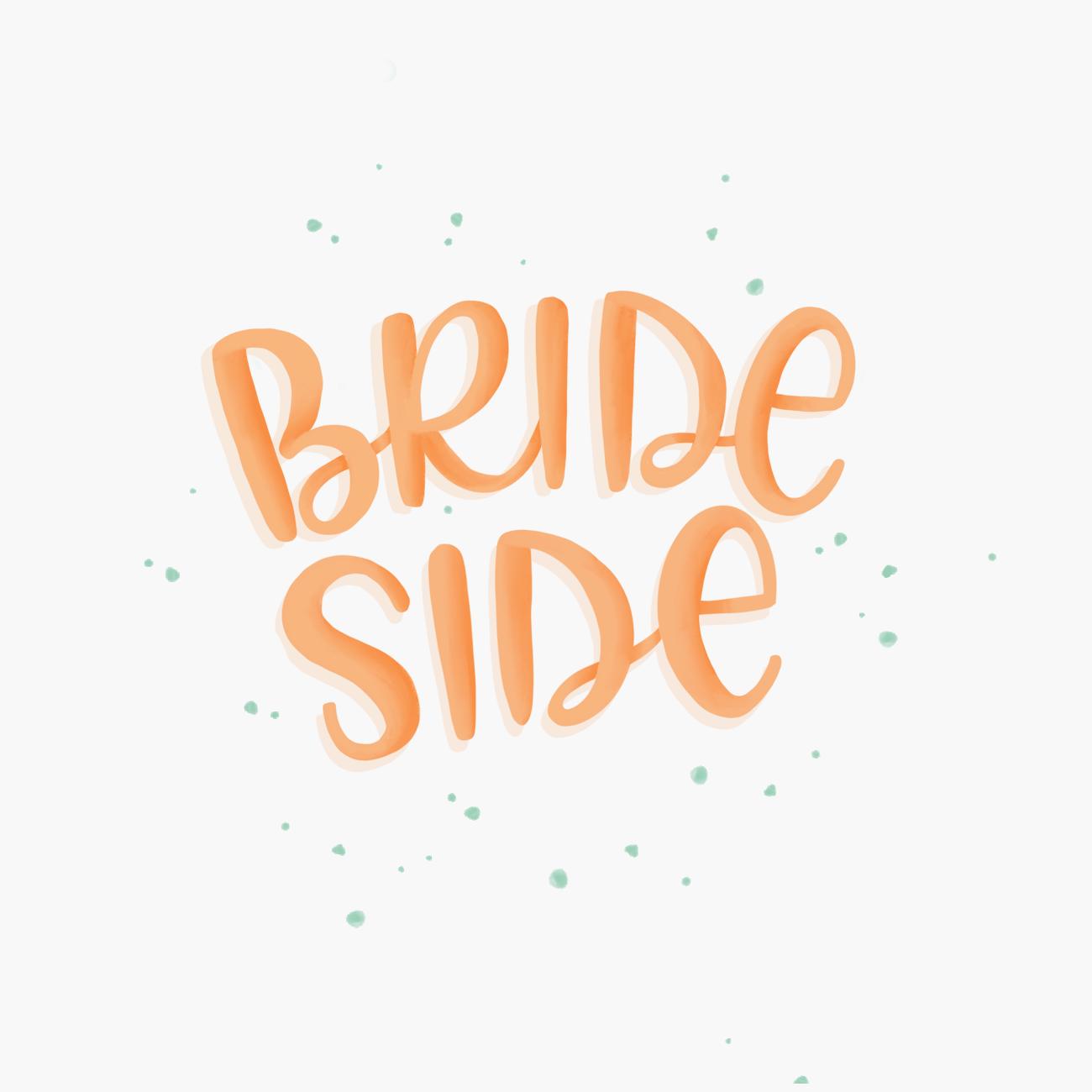 Brideside Festival Lettering