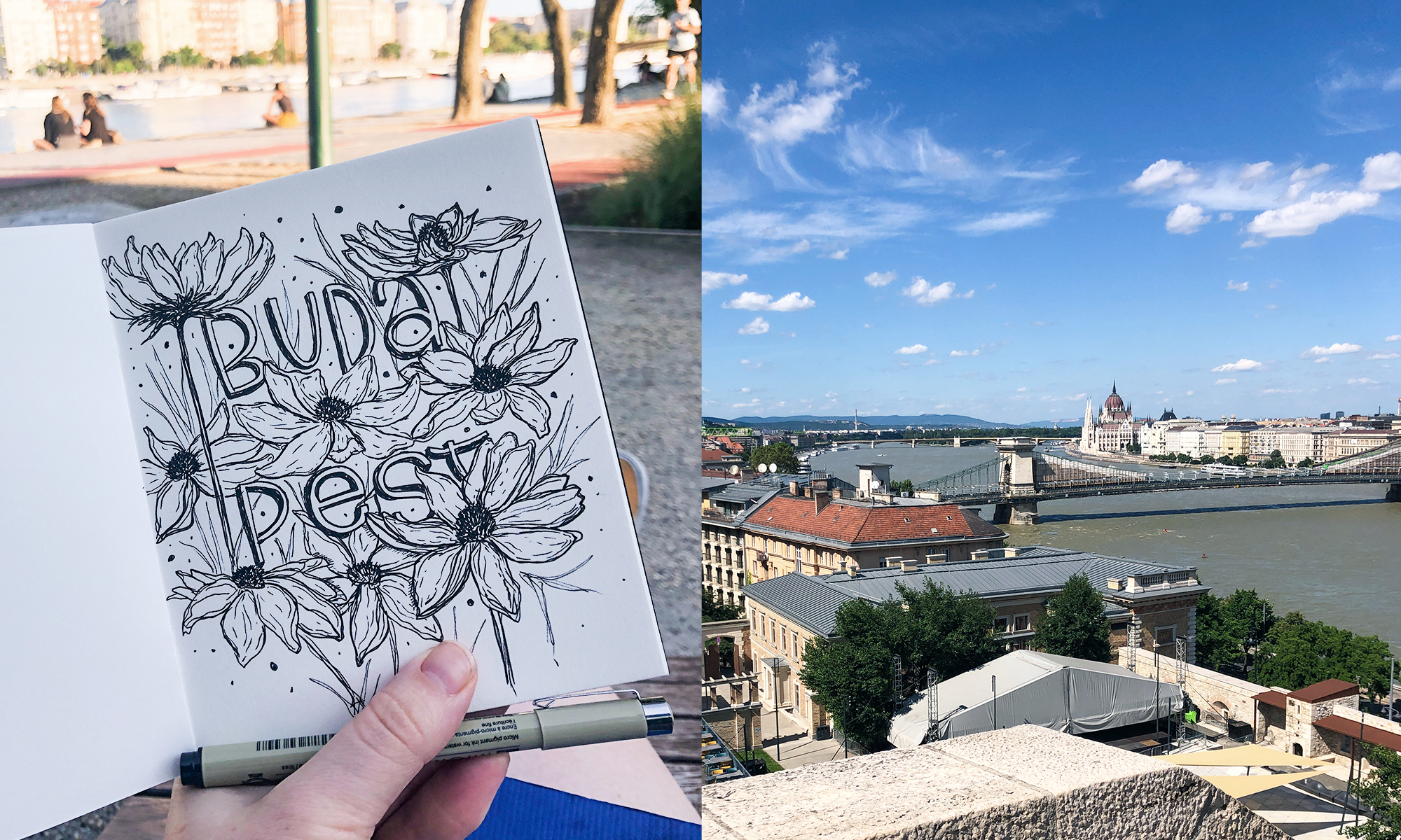 Anja Grohmann - Workation in Budapest